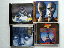 Pink Floyd, Azia, Yes, Steve Hackett. (4 CD диска)
