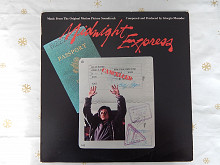 Giorgio Moroder ‎– Midnight Express (Casablanca ‎– NBLP 7114, US) EX+/NM-