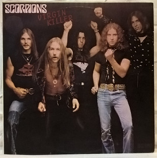 Scorpions ‎ (Virgin Killer) 1976. (LP). 12. Vinyl. Пластинка. Santa Records.
