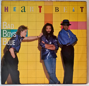 Bad Boys Blue ‎ (Heart Beat) 1986. (LP). 12. Vinyl. Пластинка. Germany.