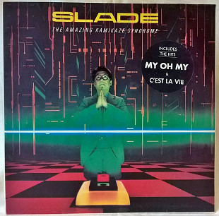 Slade ‎ (The Amazing Kamikaze Syndrome) 1983. (LP). 12. Vinyl. Пластинка. Santa Records.
