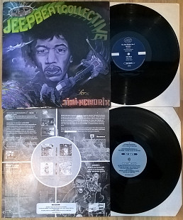 Jeep Beat Collective ‎ (For.... Jimi-Hendrix) 1998. (2LP). 12. Vinyl. Пластинки. England. Оригинал.