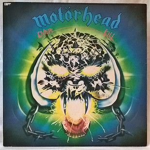 Motorhead ‎ (Overkill) 1979. (LP). 12. Vinyl. Пластинка. SNC Records.