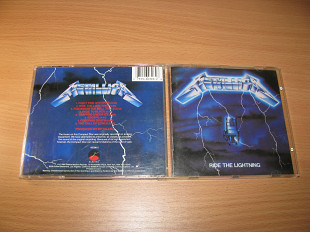 METALLICA - Ride The Lightning (1984 Elektra/Asylum 1st press, USA)