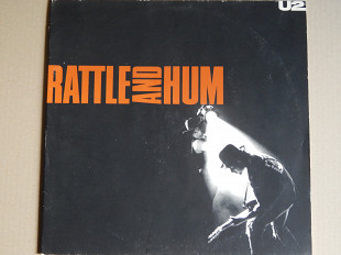 U2 ‎– Rattle And Hum (Island Records ‎– 303 400, Germany) 2 inserts EX+/NM-/NM-
