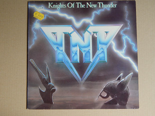 TNT ‎– Knights Of The New Thunder (Vertigo ‎– 818 865-1, Holland) insert NM-/NM-