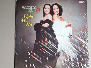 Baccara ‎– Light My Fire (RCA Victor ‎– PL 28330, India) EX+/EX+