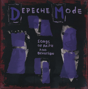 "Depeche Mode ‎– ""Songs Of Faith And Devotion"" (новая, запечатанная)"