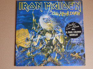 Iron Maiden ‎– Live After Death (EMI ‎– 162 24 0426 3, Germany) 2 insert, booklet NM-/NM-/NM-