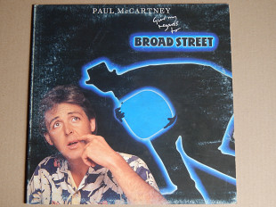 Paul McCartney ‎– Give My Regards To Broad Street (Parlophone ‎– 64 2602781, Italy) insert EX+/NM-