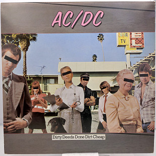 AC/DC – Dirty Deeds Done Dirt Cheap LP 12""