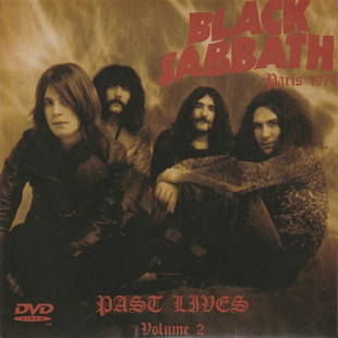 Black Sabbath 2005 Past Lives 1970 Volume 2 CD+DVD (RUS)