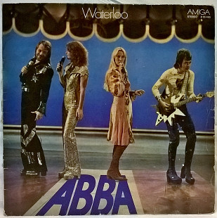 ABBA / АББА (Waterloo) 1974. (LP). 12. Vinyl. Пластинка. Germany.