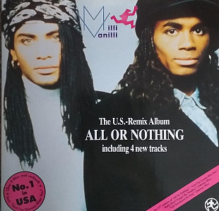 "Milli Vanilli ""The US Remix Album All or Nothing """