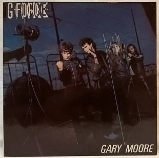 Gary Moore (G-Force) 1979. (LP). 12. Vinyl. Пластинка. SNC Records. Russia.