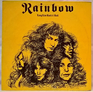 Rainbow ЕХ DIO ‎ (Long Live Rock 'N' Roll) 1978. LP (12). Vinyl. Пластинка. Santa Records.