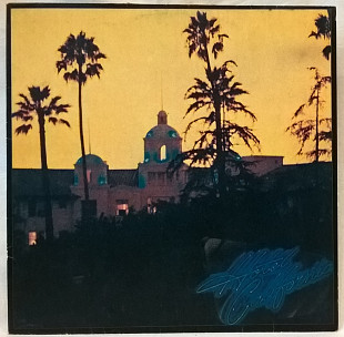 Eagles (Hotel California) 1976. (LP). 12. Vinyl. Пластинка. Santa Records.