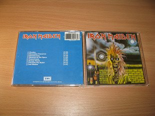 IRON MAIDEN - Iron Maiden (1980 EMI 1st press, W.Germany)