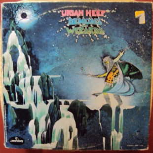 "Uriah Heep ‎ ""Demons And Wizards"" - 1972 - LP."