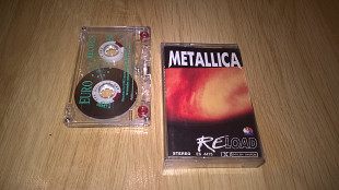 Metallica (Reload) 1997. (MC). Кассета. Euro Records. Poland.