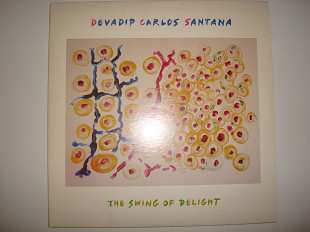 DEVADIP CARLOS SANTANA-The swing of delight 1980 2LP USA Jazz, Rock-РЕЗЕРВ
