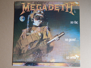 Megadeth ‎– So Far, So Good... So What! (Capitol Records ‎– 7 48148 1, Germany) insert NM-/NM-