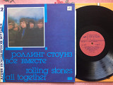 Rolling Stones - All together LP Mint 1989 Мелодия. Новая