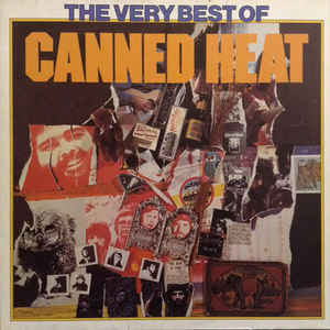 CANNED HEAT The Very Best Of 1975 Ger United Artists NM-\NM-