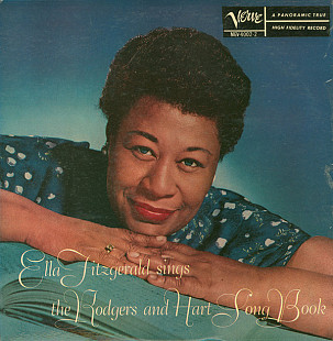 ELLA FITZGERALD Sings The Rodgers And Hart Song Book Vol.2 (Mono) 1960 USA Verve EX+\EX+
