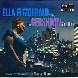 ELLA FITZGERALD Sings The Gershwin Song Book Vol.1 1959 USA Verve EX+\EX