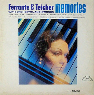 FERRANTE & TEICHER WITH ORCHESTRA AND STRINGS Memories (Mono) 1966 USA ABC-Paramount EX+\EX