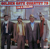 GOLDEN GATE QUARTET I'm A Rolling 1979 France Ibach NM-\NM-