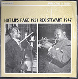 HOT LIPS PAGE \ REX STEWART Hot Lips Page-1951 \ Rex Stewart -1947 1985 Sweden Jazz Society NM-\NM