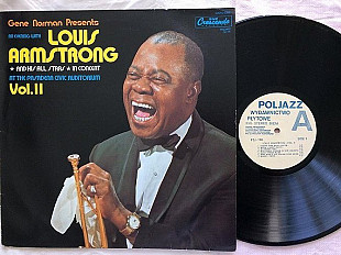 Louis Armstrong And His All Stars LP 1987 Poljazz Новая Неигранная