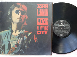 John Lennon - Live In New York City LP EMI Parlophone 1986 Новая неигранная