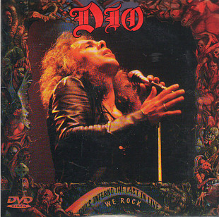 Dio ‎– Dio's Inferno - The Last In Live/We Rock 2CD+DVD (RUS)