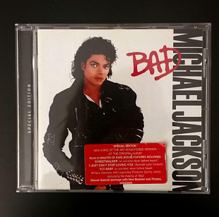 "Michael Jackson ""Bad"" Special Edition + 20 стр буклет"