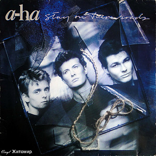 A-ha ‎– Stay On These Roads 1988 Warner Ger NM-/NM- insert