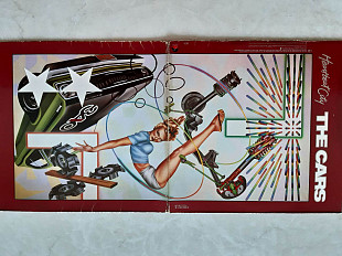 THE CARS HEARTBEAT CITY ( ELEKTRA 960 296-1 )