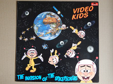 Video Kids ‎– The Invasion Of The Spacepeckers (Polydor ‎– 825 449-1, Germany) NM-/NM-