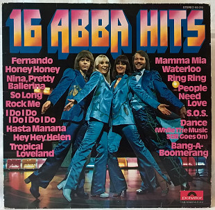 ABBA / АББА (16 ABBA Hits) 1976. (LP). 12. Vinyl. Пластинка. Germany. Club Edition.