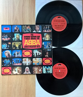 ABBA / АББА ‎ (The Very Best Of ABBA / ABBA's Greatest Hits) 1976. (2LP). 12. Vinyl. Пластинки. Germ
