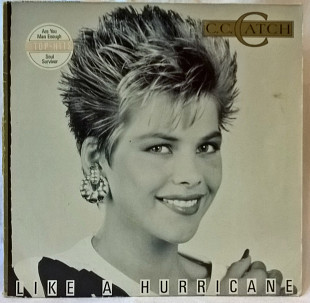 C.C. Catch ‎ (Like A Hurricane) 1987. (LP). 12. Vinyl. Пластинка. Germany.