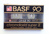 Аудиокассета BASF Chromdioxid Super II 90 1985