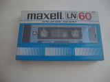 MAXELL LN60 EXTRA LOW NOISE /HIGH OUTPUT MADE IN JAPAN