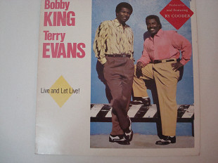 BOBBY KING AND TERRY EVANS-Live and Leet Live 1988 UK Funk / Soul, Blues Rhythm & Blues, Soul