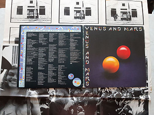 PAUL McCARTNEY & WINGS VENUS & MARS ( CAPITOL PCTC 254 YEX 945 - 1U / 946-1U PORKY PRIME CUT ) 2 Pos