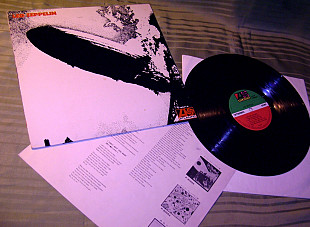 LED ZEPPELIN I 1969 Atlantic JAPAN P-8041A M - / NM +