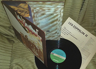 Led Zeppelin II 1969 Atlantic Japan MT 1091 NM / NM