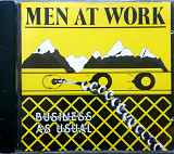 "Men At Work ""Business as usual"" +12 стр буклет"